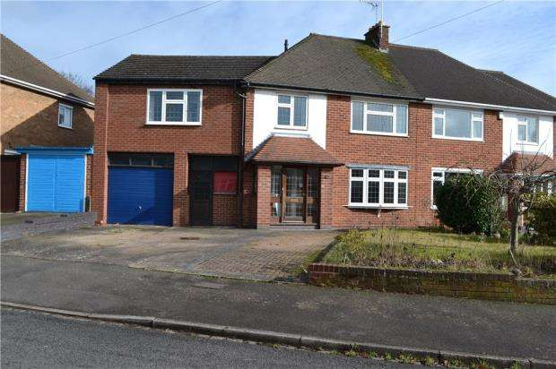 5 Bedrooms Semi Detached House for sale in Ridgeway Avenue, Styvechale, Coventry, West Midlands