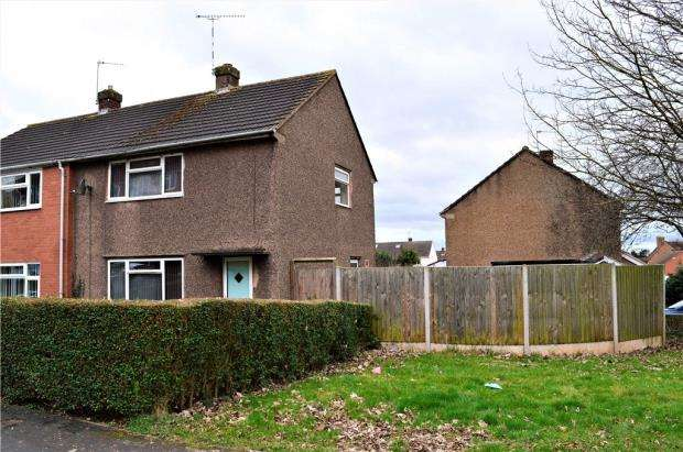 2 Bedrooms Semi Detached House for sale in Stretton Crescent, Whitnash, Leamington Spa, Warwickshire