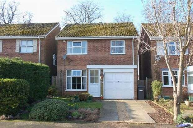 3 Bedrooms Detached House for sale in Broadlands, Brixworth, Northampton NN6 9BH