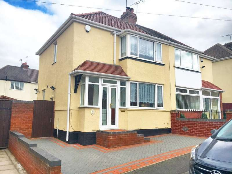 2 Bedrooms Semi Detached House for sale in TUNNEL ROAD, WEST BROMWICH, WEST MIDLANDS, B70 0RB