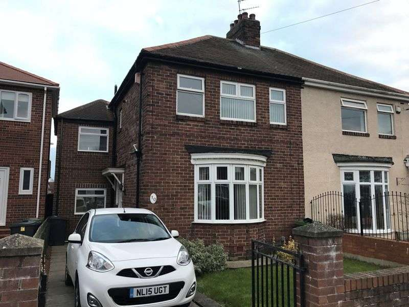 3 Bedrooms Semi Detached House for sale in Lambley Crescent, Hebburn