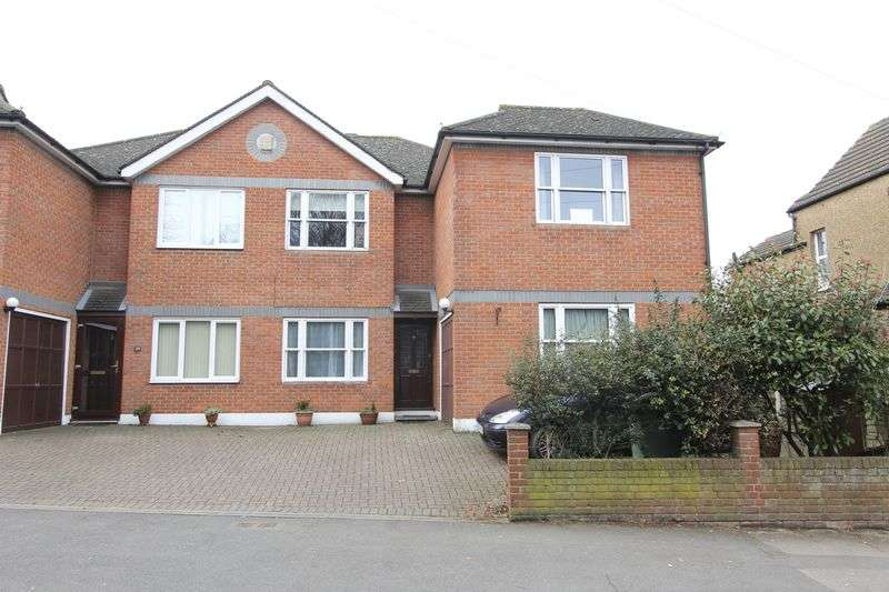 4 Bedrooms Semi Detached House for sale in Gander Green Lane, Sutton