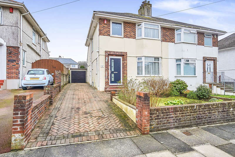 3 Bedrooms Semi Detached House for sale in Scott Road, Plymouth, PL2