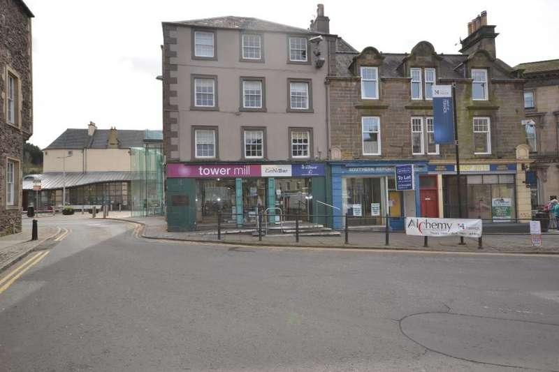 1 Bedroom Flat for sale in 2B, Towerknowe Hawick, TD9 9DQ