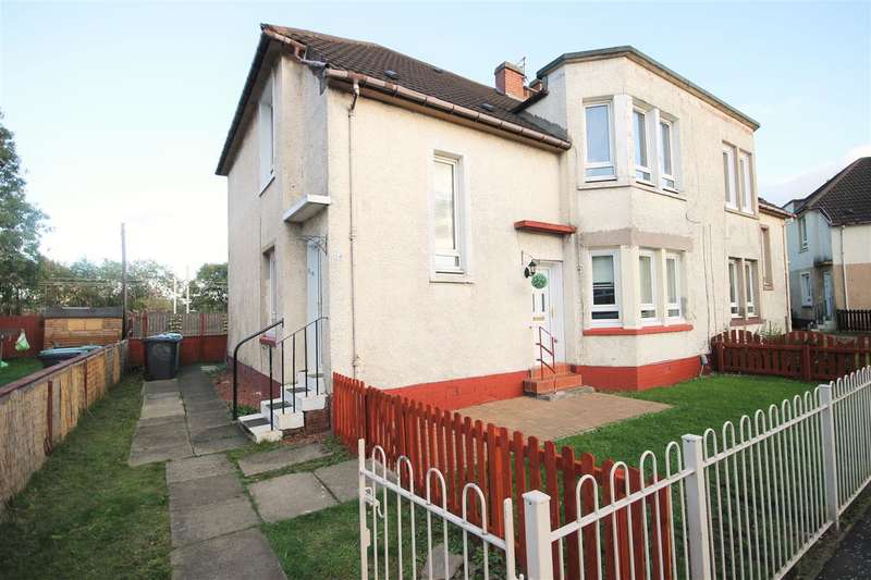 2 Bedrooms Flat for sale in Kirk Street, Coatbridge