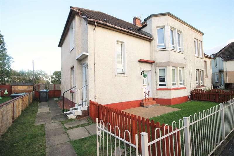 2 Bedrooms Flat for sale in Kirk Street, Coatbridge