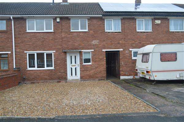 3 Bedrooms Terraced House for sale in Cedar Avenue, Brownhills, Walsall
