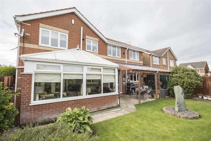 5 Bedrooms Detached House for sale in Primrose Close, Annitsford, Cramlington, Northumberland NE23
