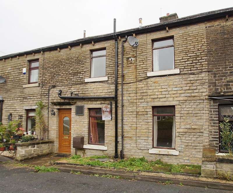 2 Bedrooms Terraced House for sale in Garfield Place, Marsden HD7
