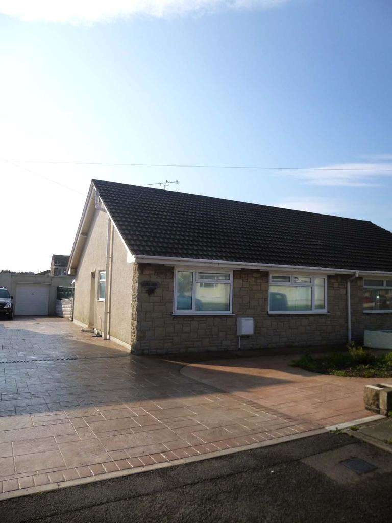 2 Bedrooms Semi Detached Bungalow for sale in Nottage, Porthcawl CF36