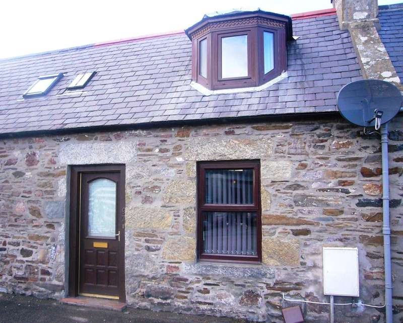 2 Bedrooms Terraced House for sale in 97 Main Street, Newmill, Keith AB55 6TS