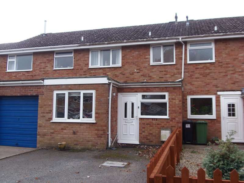 3 Bedrooms Terraced House for sale in 25 Hardwick Close, BROMYARD HR7