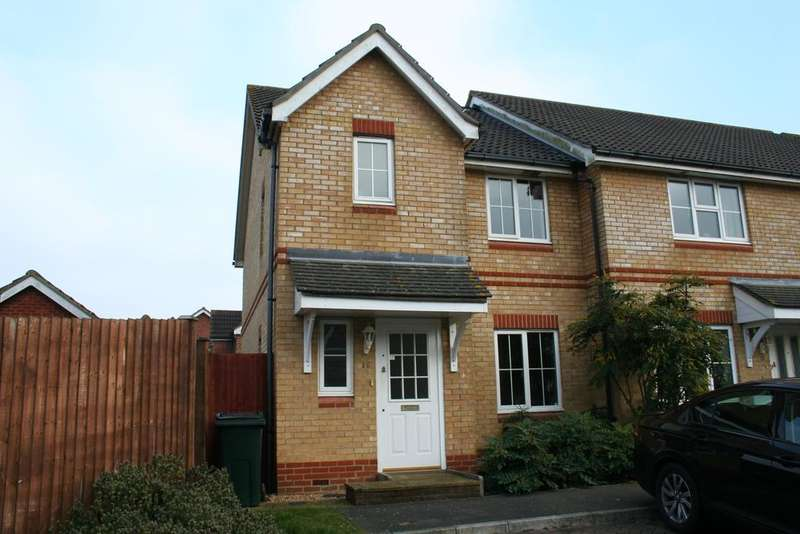 3 Bedrooms End Of Terrace House for sale in Kestrel Close, Ashford TN23