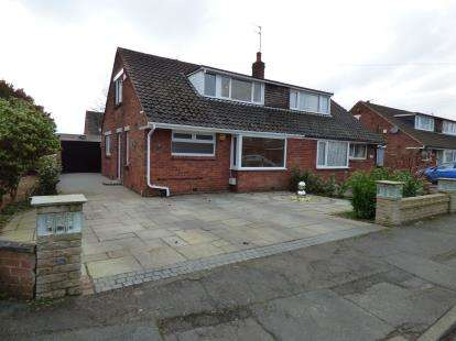 2 Bedrooms Semi Detached House for sale in Westerlong, Lea, Preston, Lancashire, PR2