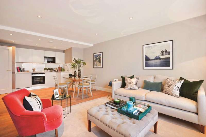2 Bedrooms Flat for sale in Wellesley Road, Croydon