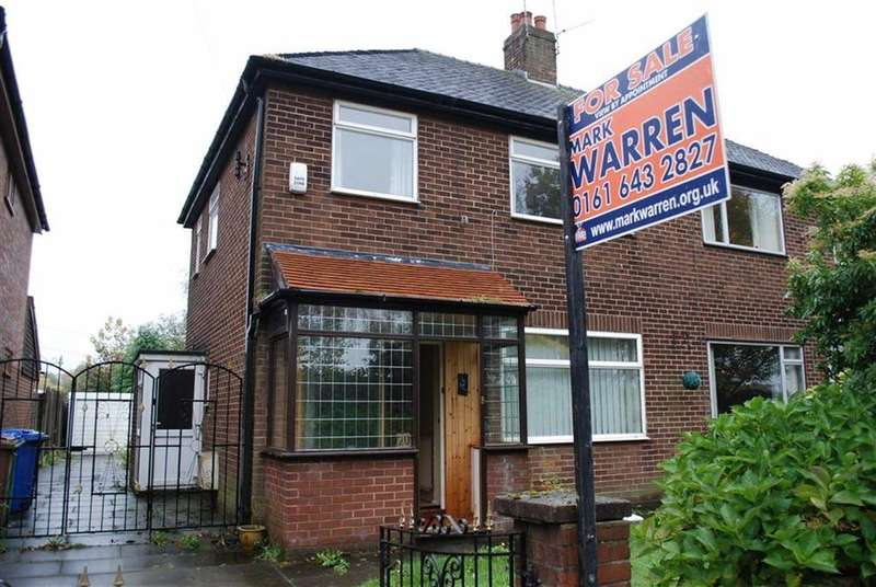 3 Bedrooms Semi Detached House for sale in Whitegates Road, Manchester