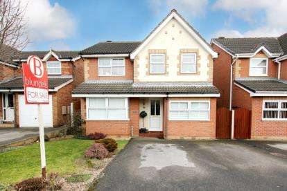 4 Bedrooms Detached House for sale in Huntington Way, Maltby, Rotherham, South Yorkshire