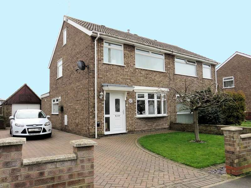 3 Bedrooms House for sale in Westborough Way, Anlaby Common, Hull, HU4 7SW