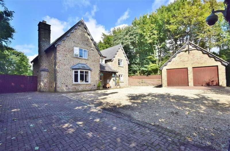 4 Bedrooms Detached House for sale in Coombe Lea, Chepstow, Monmouthshire