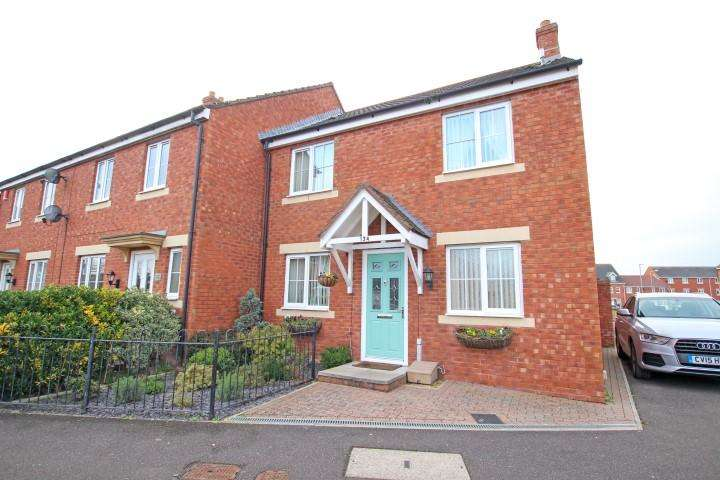 3 Bedrooms End Of Terrace House for sale in Moravia Close, Bridgwater TA6