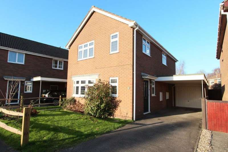 4 Bedrooms Detached House for sale in Tickner Close, Botley SO30