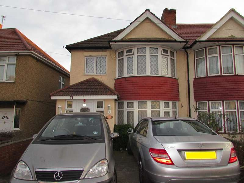 3 Bedrooms End Of Terrace House for sale in Woodside End, Wembley HA0