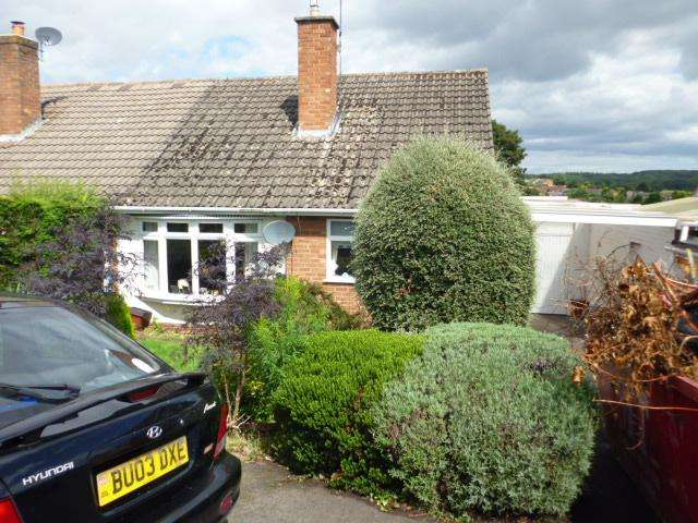 3 Bedrooms Semi Detached House for sale in CHURCH VIEW GARDENS, KINVER, KINVER DY7