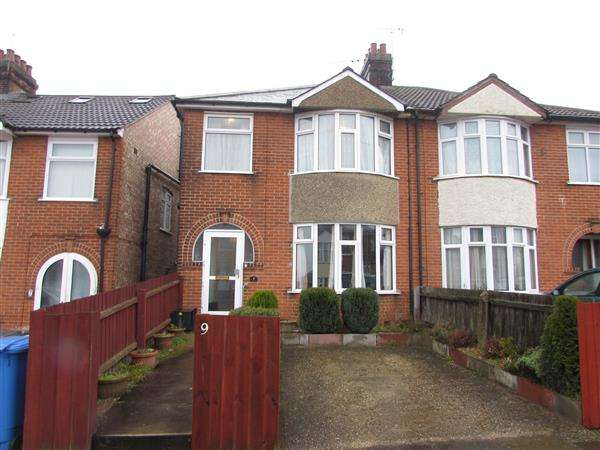 3 Bedrooms Semi Detached House for sale in Park View Road, Ipswich