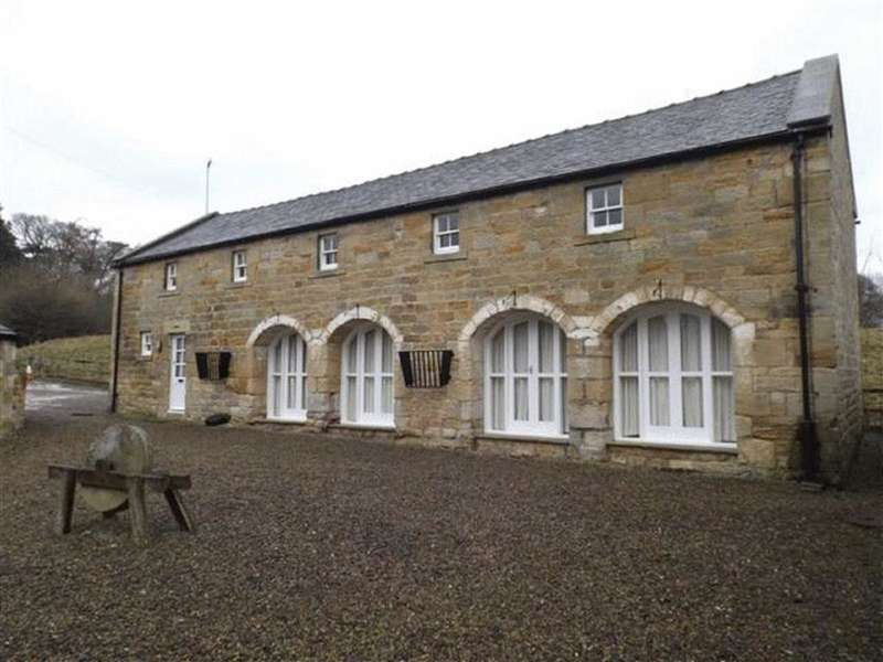 4 Bedrooms Detached House for rent in The Granary, Mitford, Morpeth, Northumberland, NE61 3QW