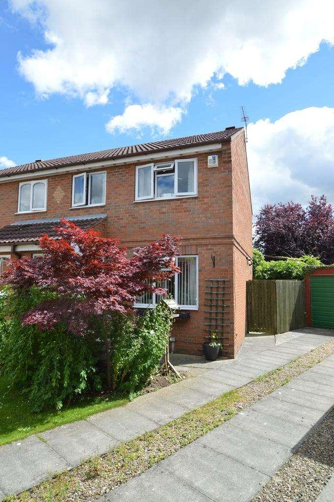 3 Bedrooms Semi Detached House for sale in Priorpot Way, Norton, Malton YO17