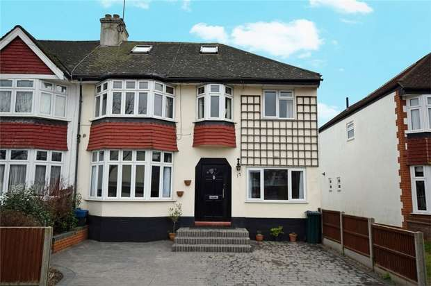 4 Bedrooms Semi Detached House for sale in Egerton Road, Twickenham