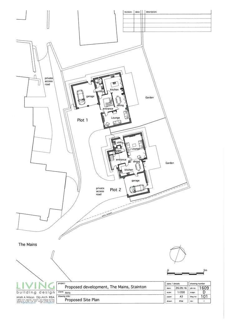Plot Commercial for sale in Serviced Building Plots, The Mains, Stainton, Penrith CA11 0EP