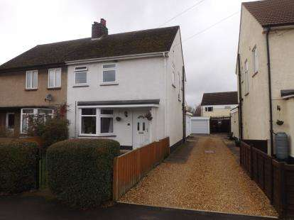 3 Bedrooms Semi Detached House for sale in The Crescent, Beeston, Sandy, Bedfordshire
