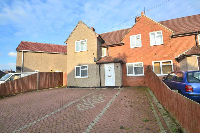 3 Bedrooms End Of Terrace House for sale in Hazel Crescent, Reading