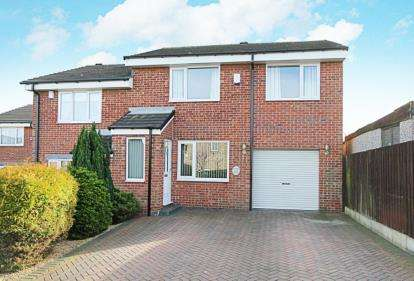 3 Bedrooms Semi Detached House for sale in Oakworth Close, Halfway, Sheffield, South Yorkshire
