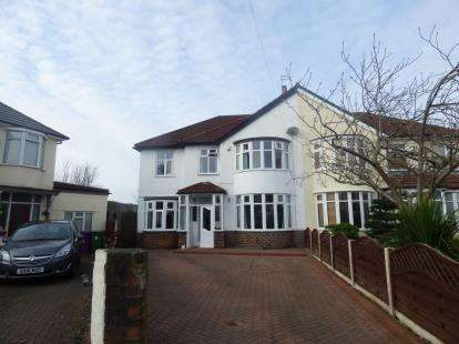 4 Bedrooms Semi Detached House for sale in Welbourne Road, Childwall, Liverpool, Merseyside, L16