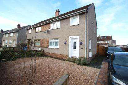 3 Bedrooms Semi Detached House for sale in Bruce Terrace, Irvine, North Ayrshire