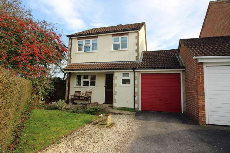 3 Bedrooms Link Detached House for sale in Churchward Drive, Frome