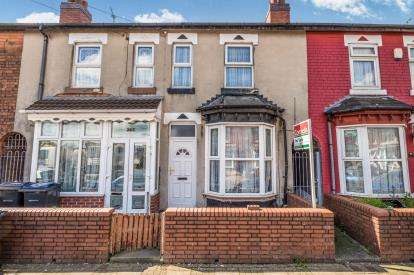 3 Bedrooms Terraced House for sale in St Saviours Road, Alum Rock, Birmingham