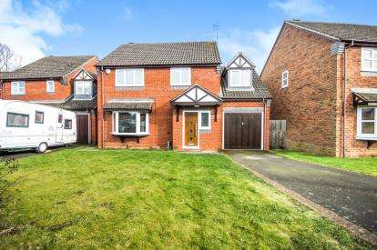 5 Bedrooms Detached House for sale in Goldacre Close, Whitnash, Leamington Spa, England