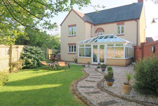 4 Bedrooms Detached House for sale in Burge Meadow, Cotford St Luke, Taunton TA4