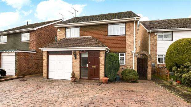 4 Bedrooms Detached House for sale in Ballard Green, Windsor, Berkshire