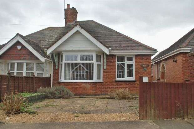 2 Bedrooms Semi Detached Bungalow for sale in Malcolm Drive, Duston, Northampton NN5 5NL