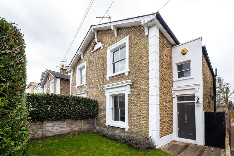 3 Bedrooms Semi Detached House for sale in St. Marys Grove, Richmond, TW9