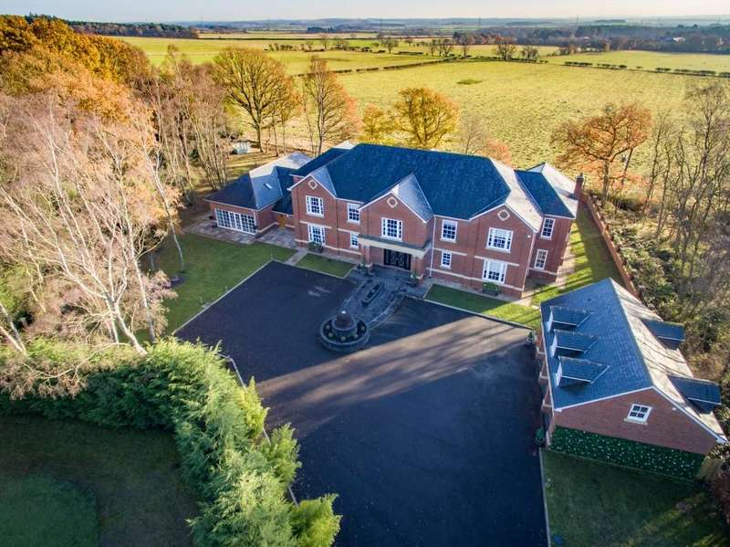5 Bedrooms Detached House for sale in Lomond House, Tranwell Woods, Morpeth, Northumberland NE61