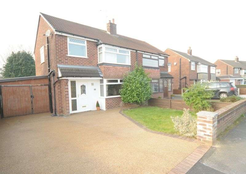 3 Bedrooms House for sale in Dunmow Road, Thelwall, Warrington