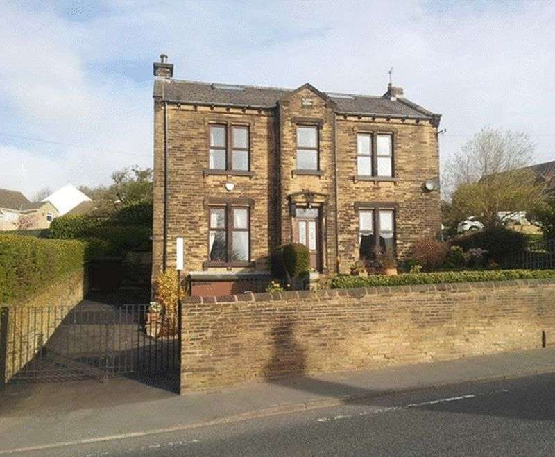 4 Bedrooms Detached House for sale in Clough House, Halifax Road, Shelf