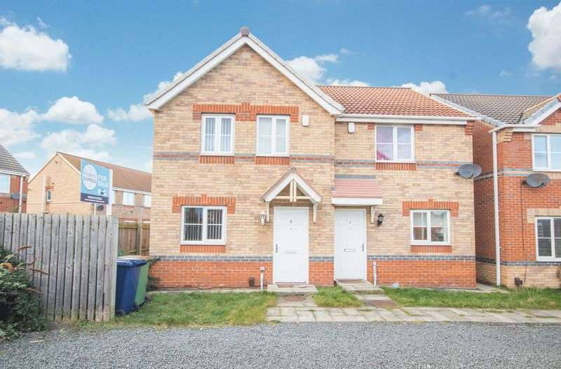 3 Bedrooms Semi Detached House for sale in St Johns Row, Grangetown, Middlesbrough, TS6 7HL