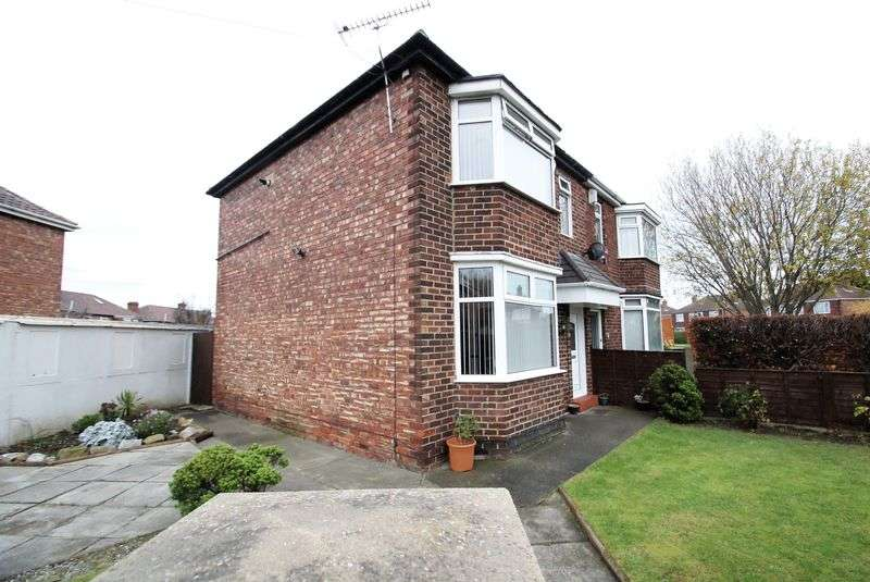 3 Bedrooms Semi Detached House for sale in Downside Road, Middlesbrough