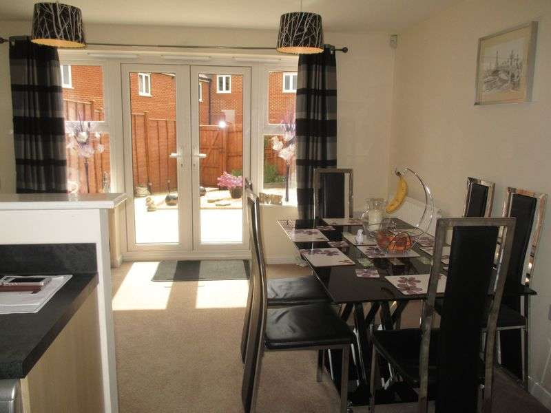 3 Bedrooms Terraced House for sale in Shackleton Road, Yeovil
